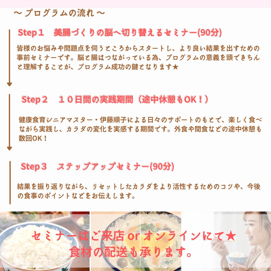 食べる断食若玄米リセットプログラム